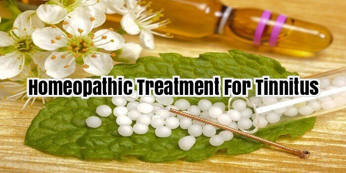 Homeopathic Treatment For Tinnitus